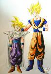 Dragon Ball - Gohan 67 (father and son 2)