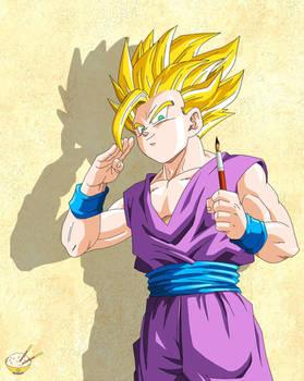 Dragon Ball - Gohan 74 (Teen Gohan artist :D)