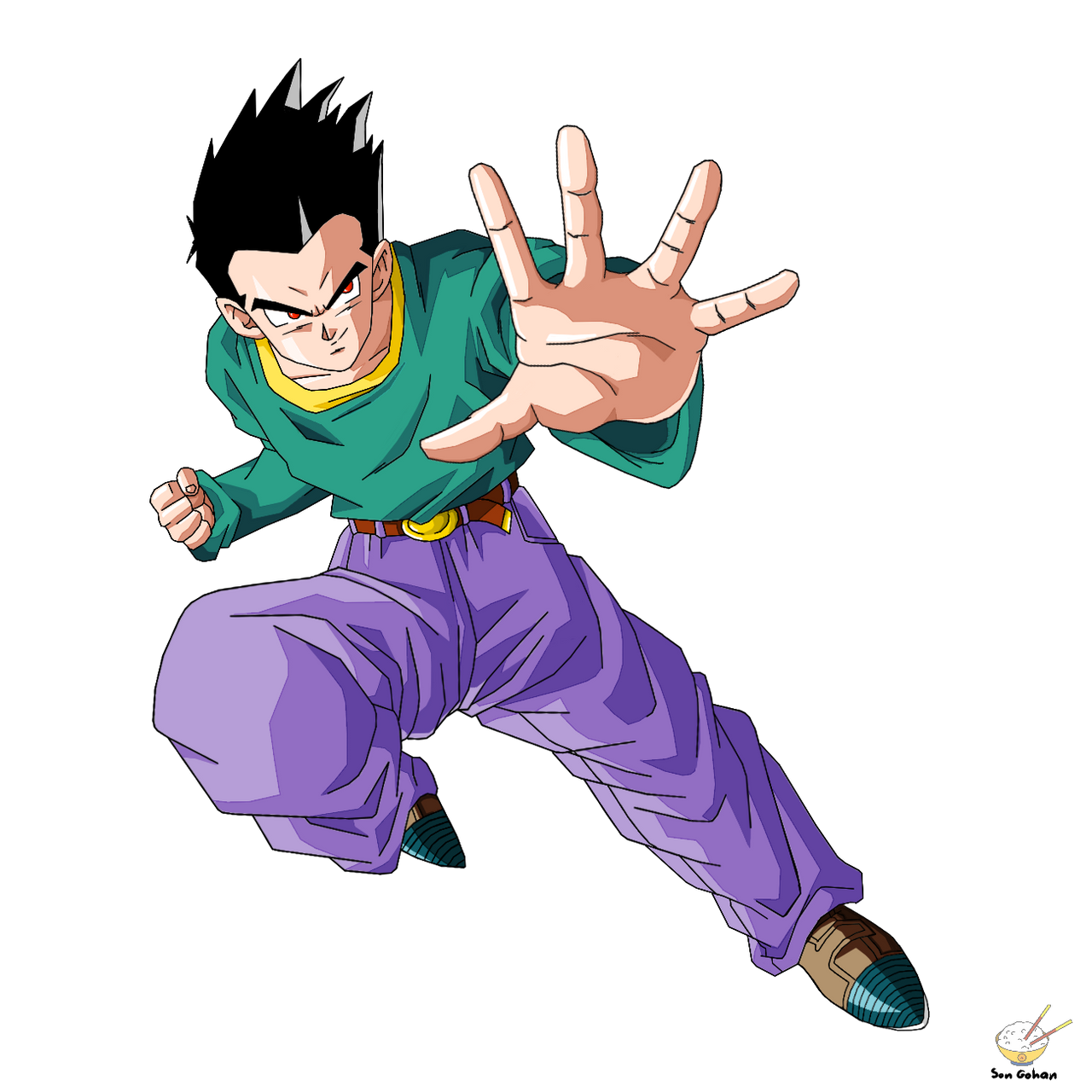 Dragon Ball - GOTEN EVIL by songohanart - 474.2KB