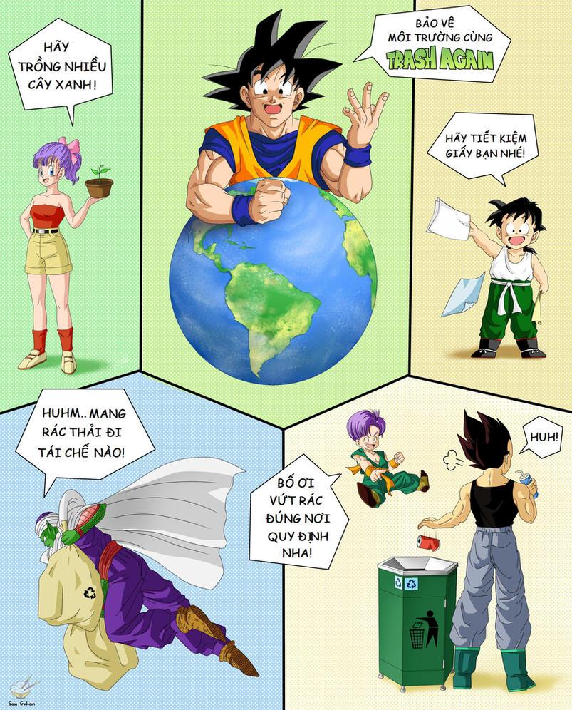 Goku Trash542 by songohanart