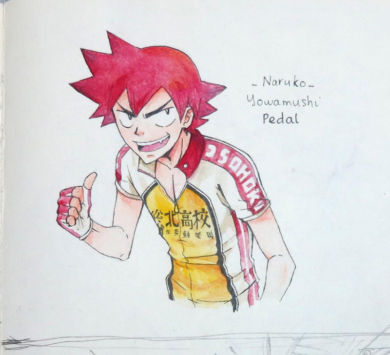 NARUKO - YOWAMUSHI PEDAL fanart by songohanart
