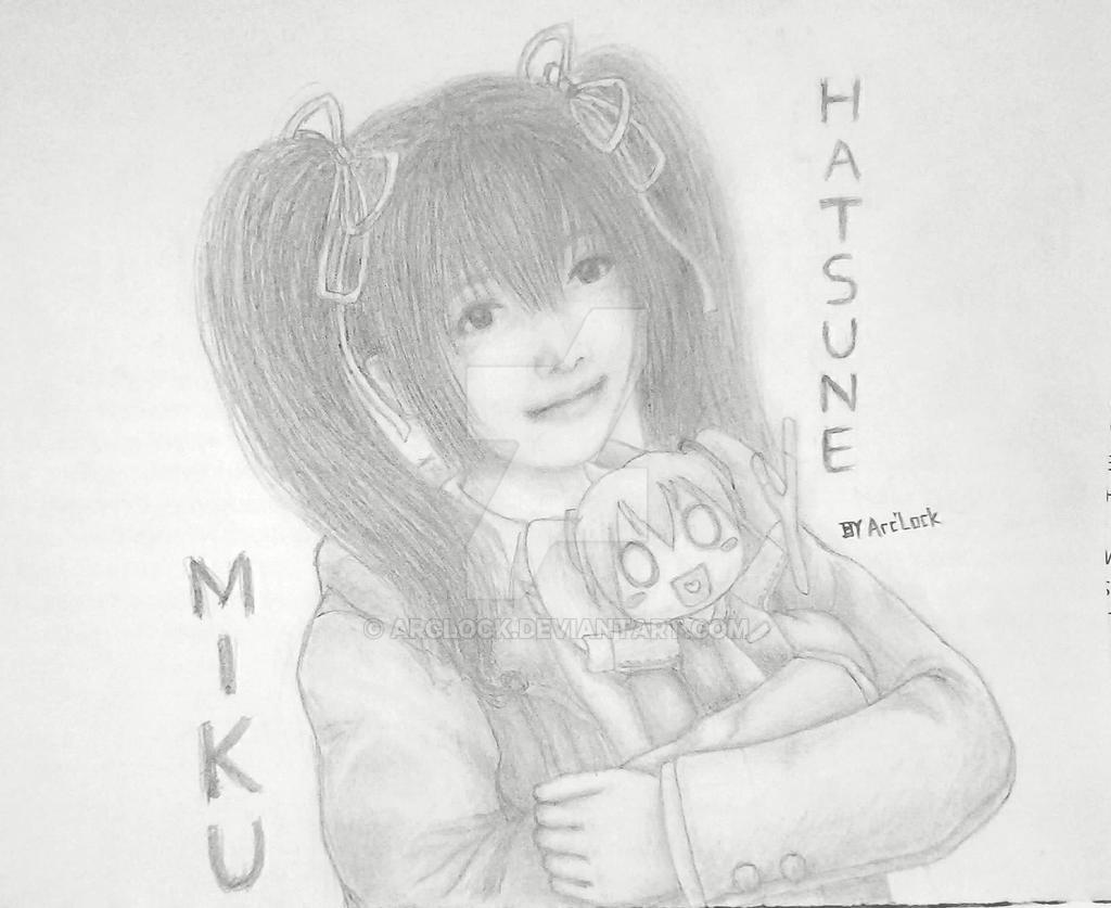 Hatsune Miku by Arc'Lock by ArcLock