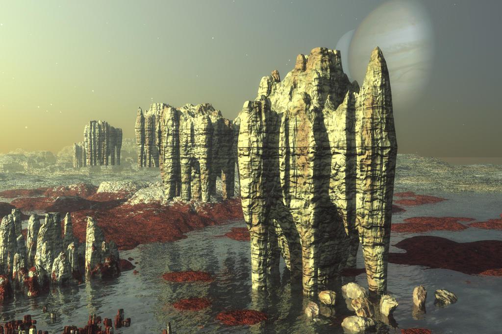 Alien Landscape by katlienc