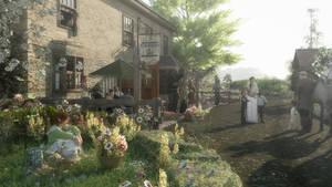 A Gathering at the Black Rose Inn