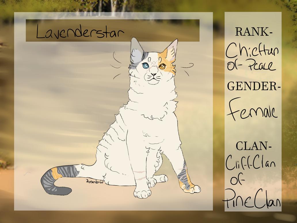 lavenderstar by Rosenbriar