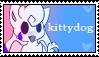 kittydog stamp #2 by belmew