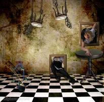 Confusion Room by LilyInWonderland