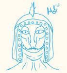 Late Night Oblivion Portrait Sketch