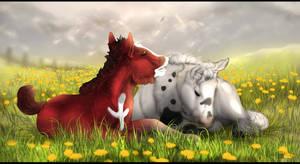 Foal Belladonna and Tyren
