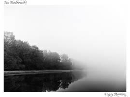 Foggy Morning by JanPusdrowski