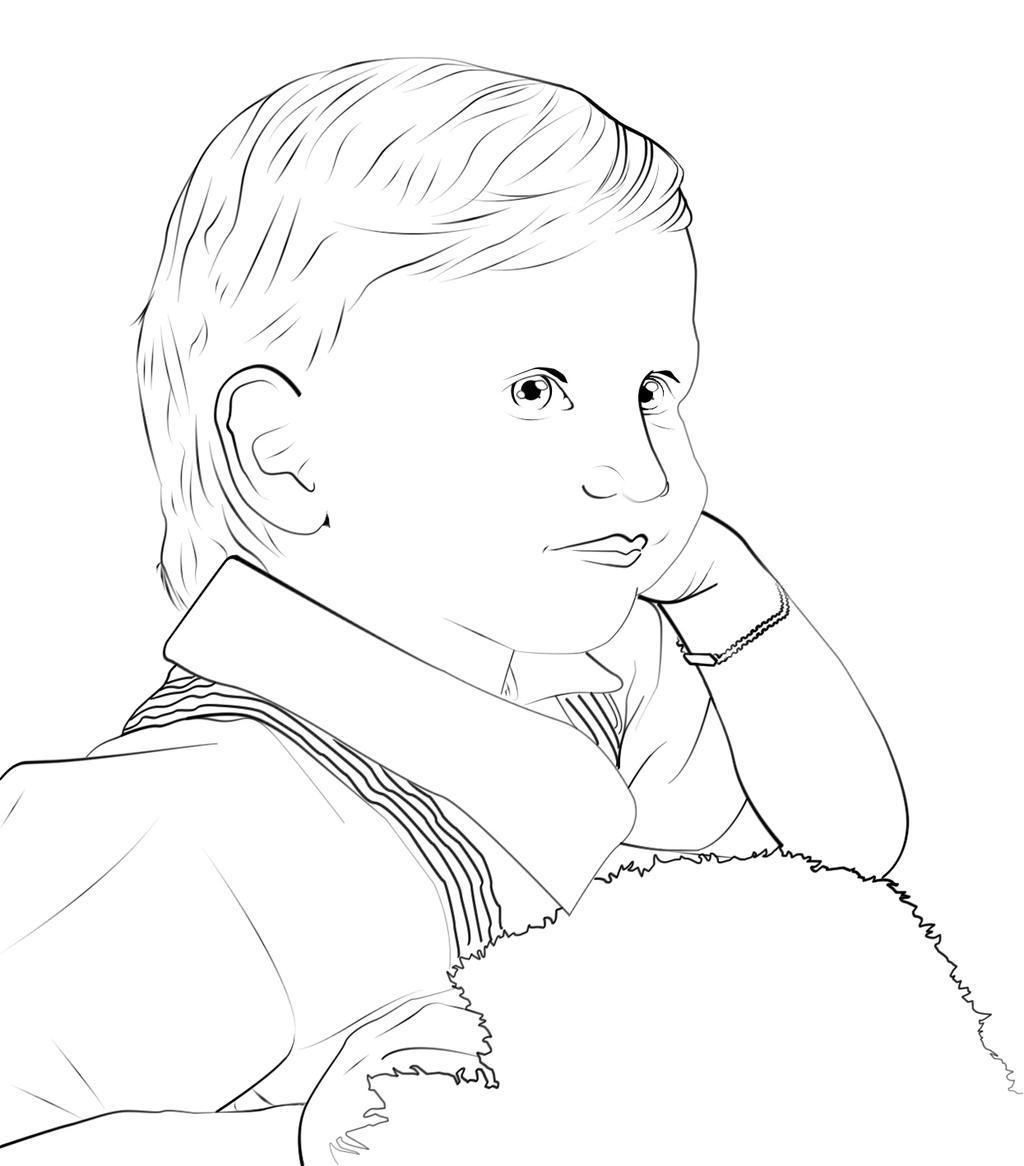 Line Art Baby : Line art baby older bro by zarengo on deviantart