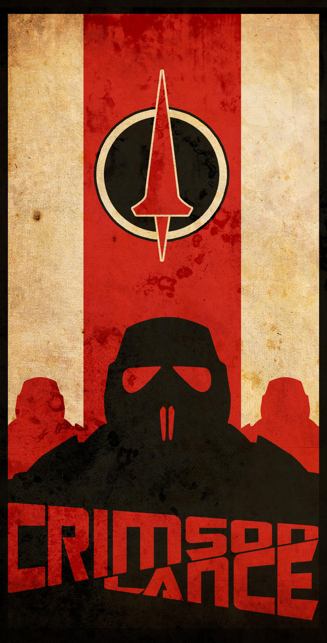 Crimson Lance Poster 3 by zarengo