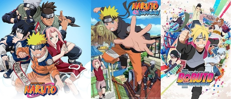 all 3 Naruto series's by dustnjohnson on DeviantArt