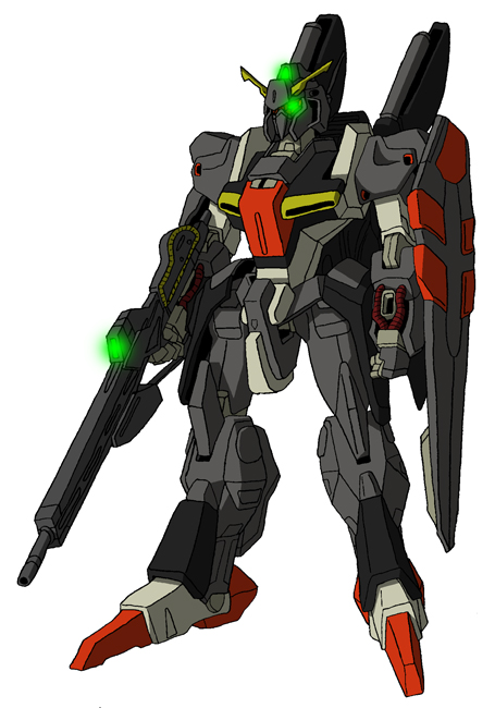 MSZ-005X1 Epsilon Gundam MS mode by unoservix