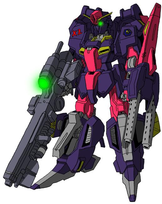 MSZ-006/X2 Zeta Gundam Unit 2 MS mode by unoservix
