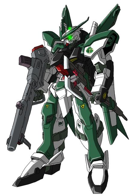 MCF-JG77G Gundam Astray Green Frame Kai by unoservix