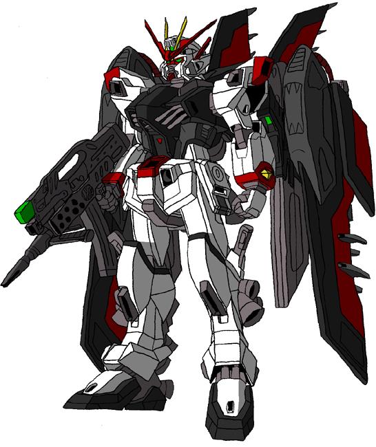 CAT1-X7-A1 Morrigan Gundam by unoservix