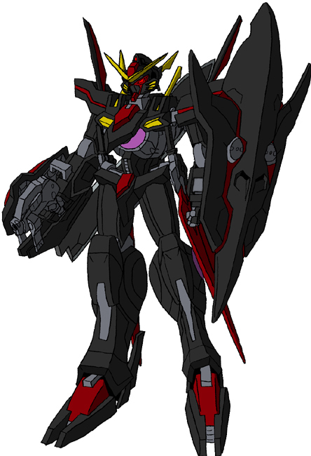 GNW2-001 Gundam Dominion Alpha by unoservix