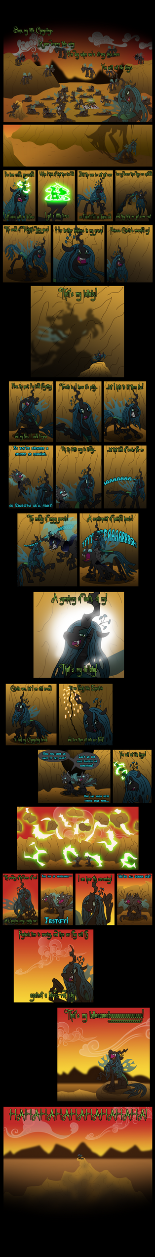 Queen Chrysalis - My Lullaby by unoservix