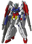AGE-2DB Gundam AGE-2DB Double Bullet MS mode