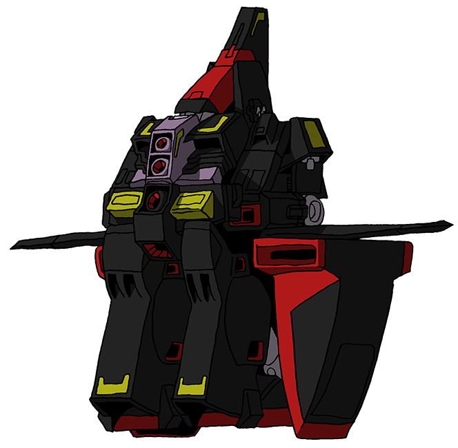 MRX-009 Psyco Gundam (Fortress Mode)