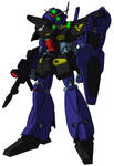 RX-91GP01/Fv Gundam GP01 Zephyranthes Full Vernian