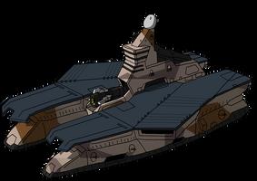 Olympus-class aircraft carrier landship