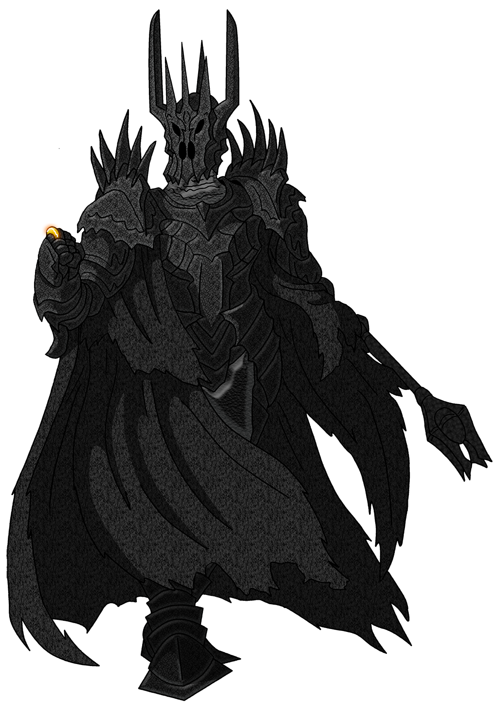 one for the dark lord on his dark throne by unoservix