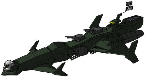 Defiance Space Pirate Heavy Cruiser by unoservix