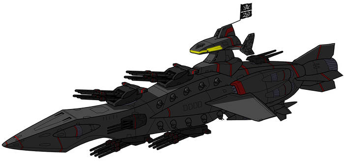 Executioner Space Pirate Battleship