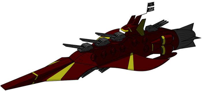 Faustian Bargain Space Pirate Battlecruiser