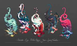 [CLOSED ADOPT] Keyccchain guest batch