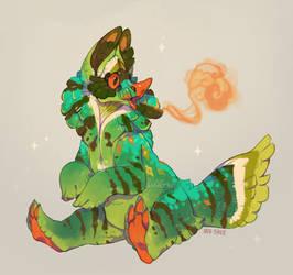 [$] eat ur greens