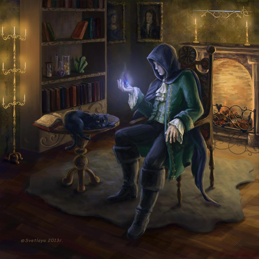 Magician by Svetlaya777