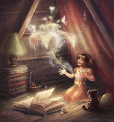 Awakening magic by Svetlaya777