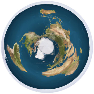 Flat round world map by designsbyalx on deviantart flat round world map by designsbyalx gumiabroncs Gallery