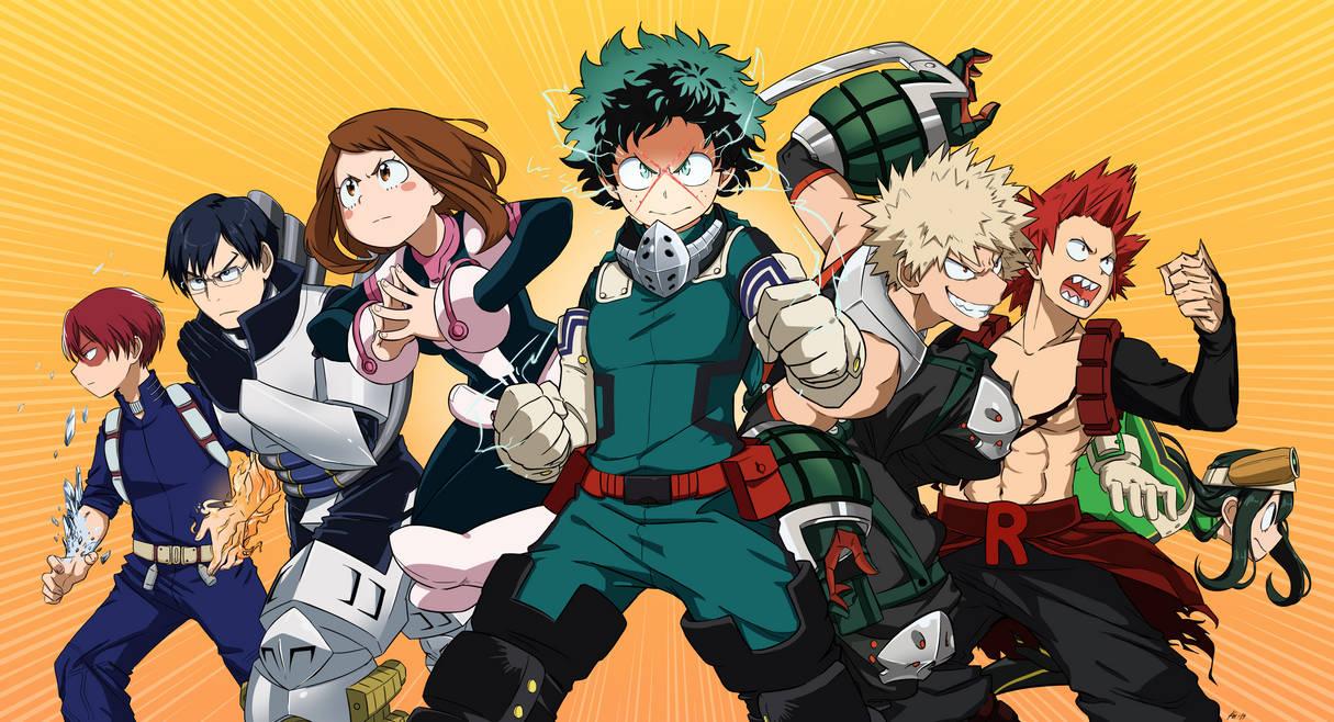 Hero academia: Beyond website banner by KoiHorkka