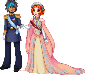 Bowen and Mionna by Rythea