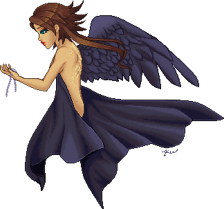 One Winged Angel by Rythea