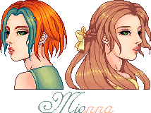 Mionna Then and Now by Rythea