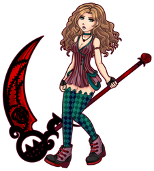 Rozelynn with Scythe by Rythea