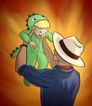 Little Dino Boy