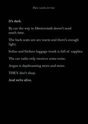 It's dark. - 40