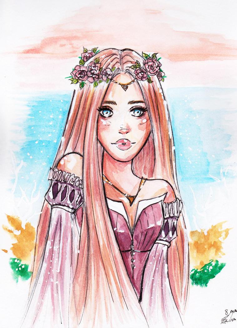 Rose Princess by Claryti