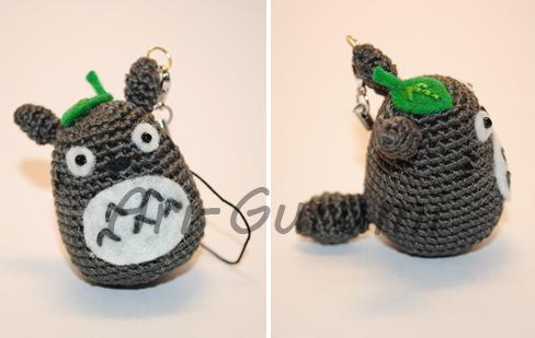 Amigurumi Totoro : Totoro amigurumi by ari gurumi on deviantart