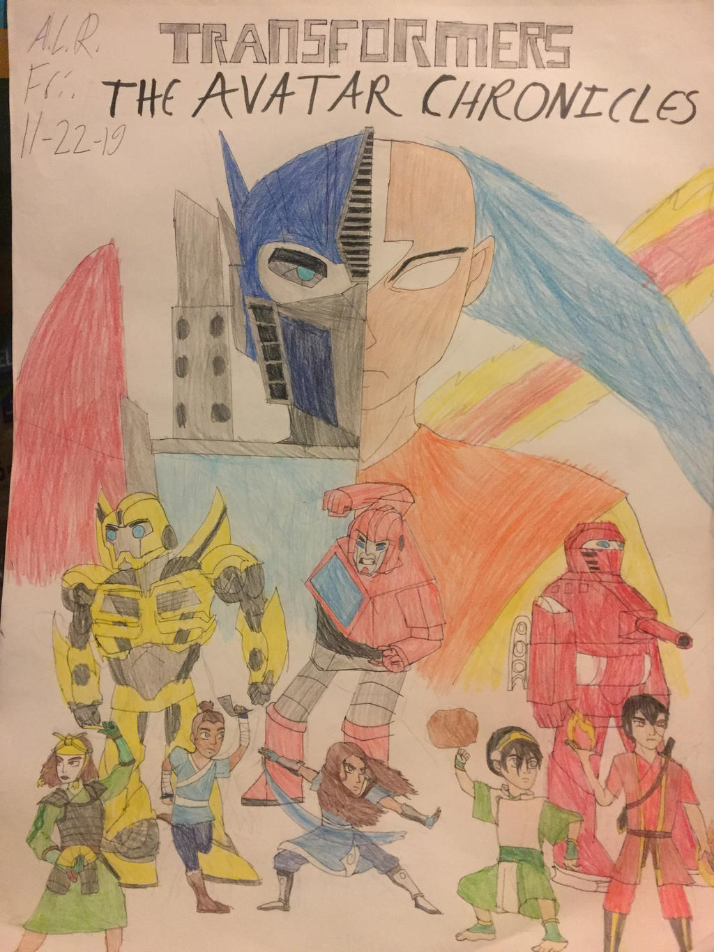 Transformers: The Avatar Chronicles