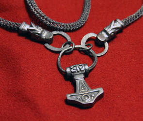 Viking pendant and necklace