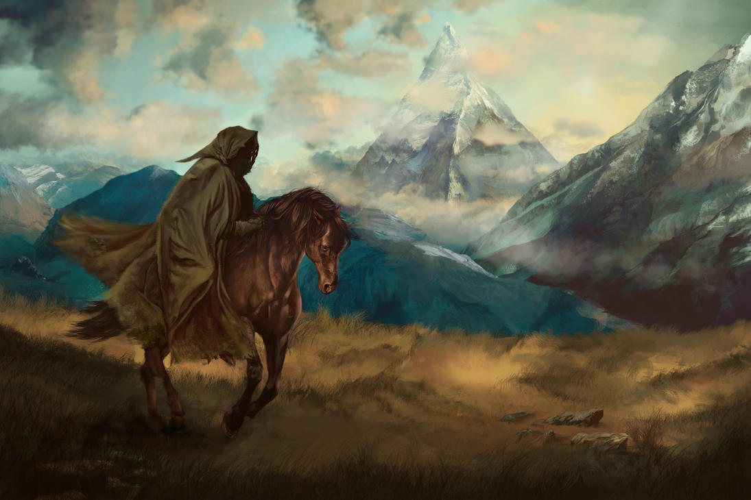 The Lonely Mountain by Silvaticus