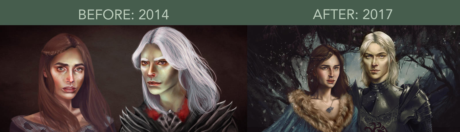 Draw this Again: Rhaegar and Lyanna by Silvaticus