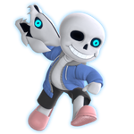 Sans Smash Ultimate Fan Render